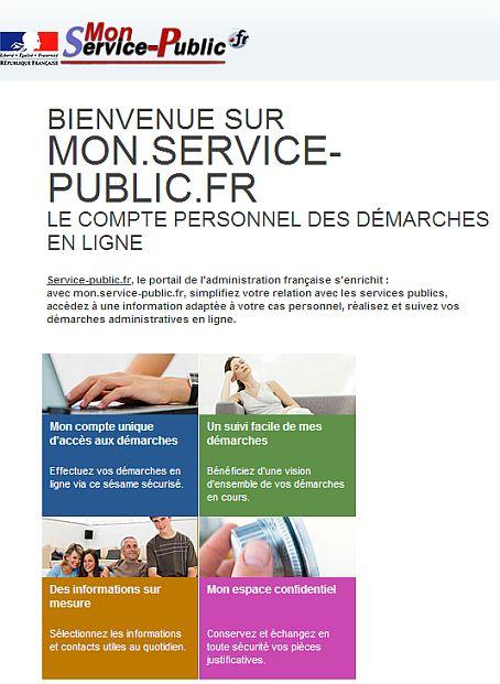 mon.service-public.fr : un espace de stockage en ligne pour éviter ...